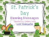 St. Patrick's Day - Morning Messages