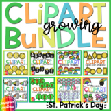 St. Patricks Day Movable Clipart Growing Bundle