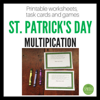 St. Patrick's Day Multiplication