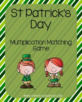 St. Patrick's Day Multiplication Center