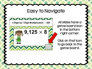 St. Patrick's Day Multiplication Game - Similar to Jeopardy