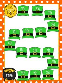 St. Patrick's Day Music Game Bundle Level  2: four games, zero prep!