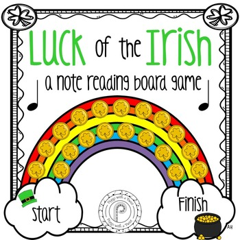 St Patrick's Day Music Game: Note Reading