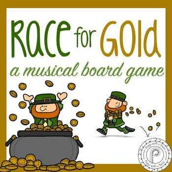 St. Patrick's Day Music Game: Race for Gold!