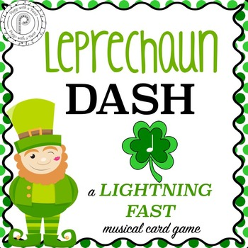 St. Patrick's Day Music Game: musical vocabulary