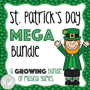 St. Patrick's Day Music Games Mega Bundle- a growing bundle!