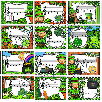 St. Patrick's Day Music Scavenger Hunt (So-Mi)