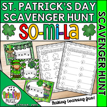 St. Patrick's Day Music Scavenger Hunt (So-Mi-La)