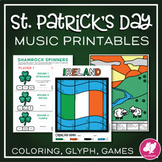 St. Patrick's Day Music Worksheets & Activities