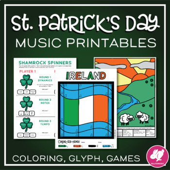 St. Patrick's Day Music Activities & Worksheets