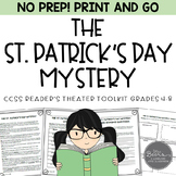 St. Patrick's Day Reader's Theater Script for Grades 4-8