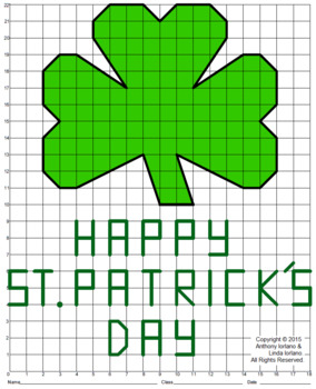 St. Patrick's Day Mystery Picture