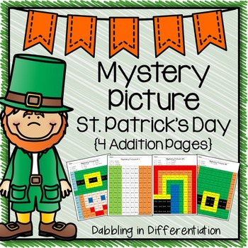 St. Patrick's Day Addition Mystery Picture
