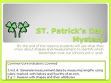 St. Patrick's Day Mystery (aligned with common core) PPT w/  exit tickets