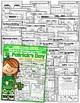 March NO PREP Packet (Kindergarten)