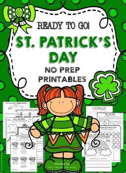 St. Patrick's Day: 2nd Grade, 3rd Grade, 4th Grade St. Patrick's Day Worksheets