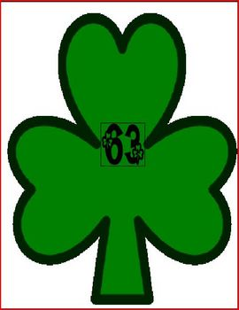 St. Patrick's Day: Name Collection Shamrocks