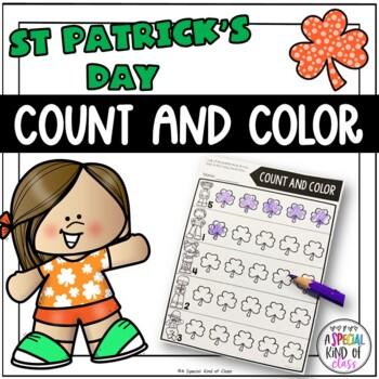 St. Patrick's Day No Prep Math