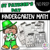 St. Patrick's Day No Prep Math Number 1 to 20