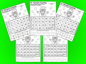 St. Patrick's Day - No Prep Math