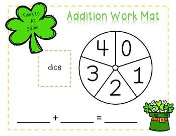 St. Patrick's Day No Prep Math Games Bundle