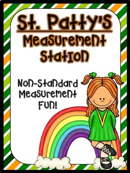 St. Patrick's Day Measuring Length (Non-standard Measurement)