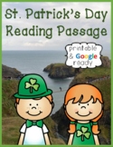 St. Patrick's Day Nonfiction Close Reading Passage and Questions