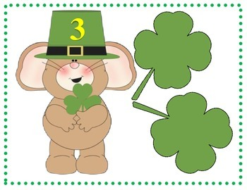 St. Patrick's Day Number Bond Game
