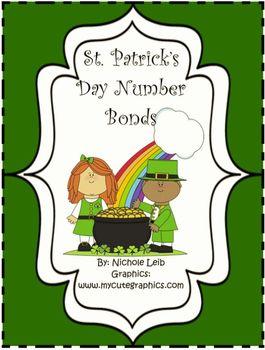 St. Patrick's Day Number Bonds