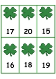 St. Patrick's Day Number Order 1-100