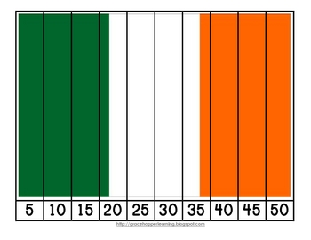 St. Patrick's Day Number Order and Skip Counting Puzzles
