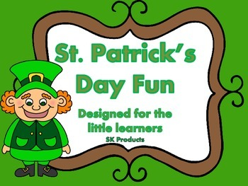 St. Patricks Day Numbers 1-10 Pack