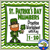 St Patrick's Day Numbers 1 - 20