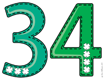 St. Patrick's Day Numbers