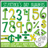 St. Patricks Day Numbers + Math Symbols