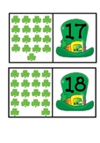 St. Patrick's Day Numeral to Set Matching 11-20