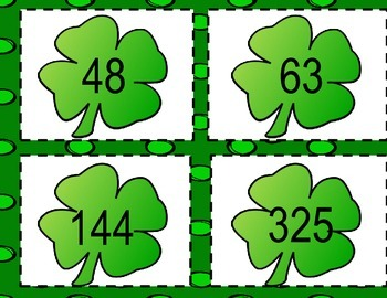 St. Patrick's Day: Odd and Even Numbers (0-999)