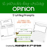 St. Patrick's Day Opinion Writing Common Core Aligned