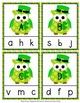 St. Patrick's Day Owl Alphabet Clip Cards
