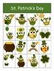 St Patricks Day Owl BINGO