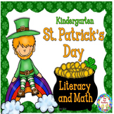 St. Patrick's Day  Kindergarten Math and Literacy