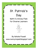 St. Patrick's Day Pack for Diverse Learners