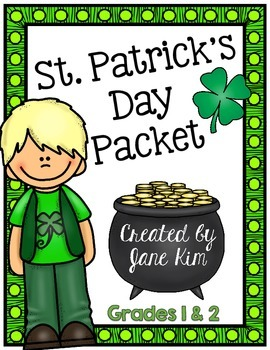 St. Patrick's Day Packet: First to Second Grade
