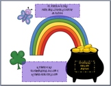 St. Patrick's Day Packet full O' Literacy and Math Centers Plus!