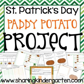 St. Patrick's Day Paddy Potato Project