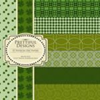 St. Patricks Day Paper Pack