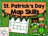 St. Patrick's Day Map Skills: Cardinal Directions