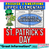 St. Patrick's Day: Reading Passage and Questions: Reading