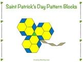 St. Patrick's Day Pattern Blocks