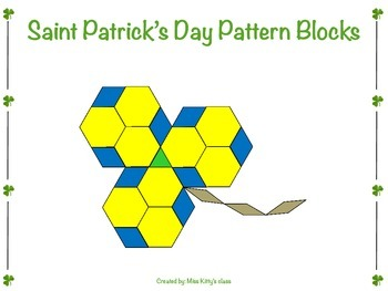 St. Patrick's Day Pattern Blocks